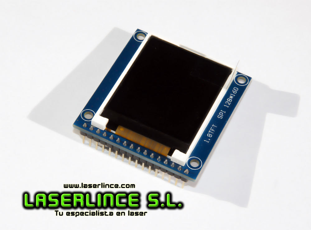 1.8'' TFT LCD with SD card adapter