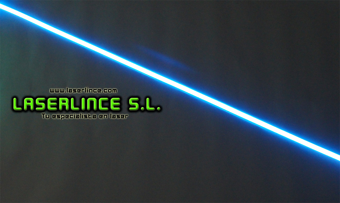 Electroluminescent light strip 100cm X 1.5 cm blue
