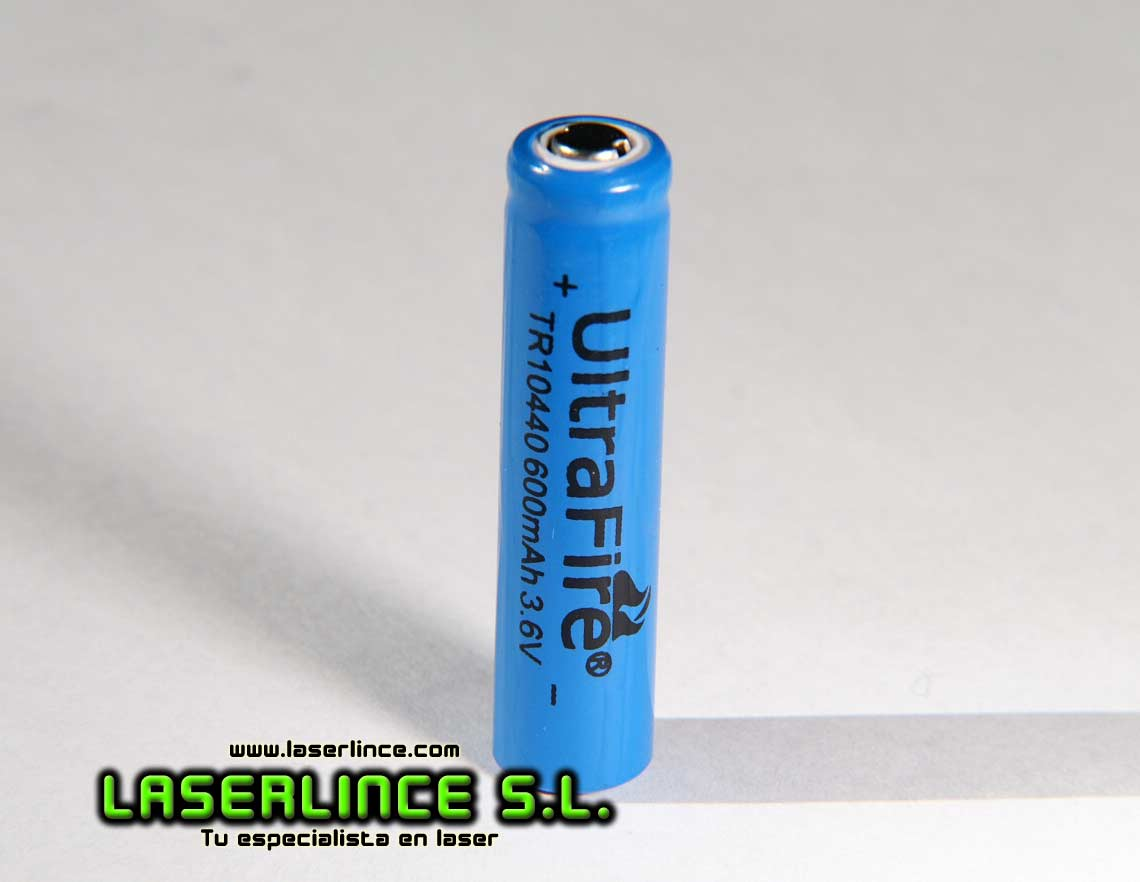 1 Rechargeable Battery 600mAh 3.6 V 10440 UltraFire