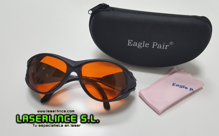 Goggles green and violet laser Eagle Pair