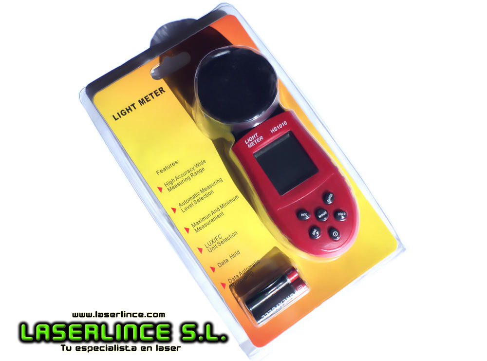 Light meter / digital photometer to measure light up 200000lux