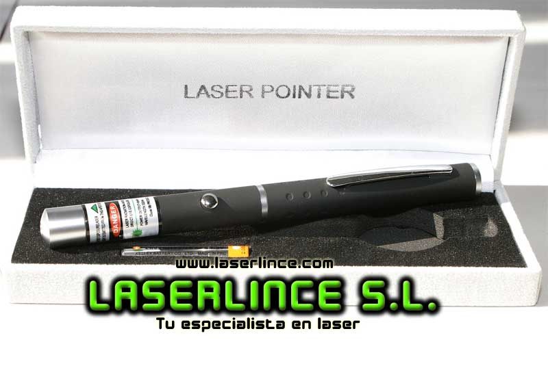 A4 Green laser pointer 30mW (532nm)