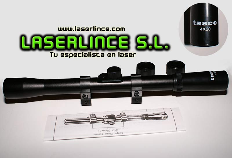 Telescopic sight glass Tasco 4X20