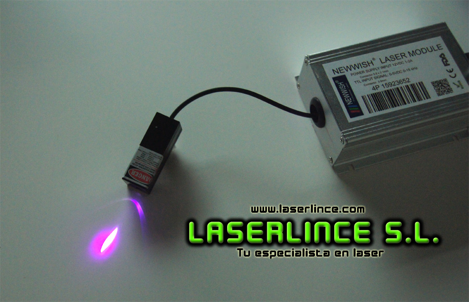 C1 Module 10mW violet laser (405nm) with TTL modulation