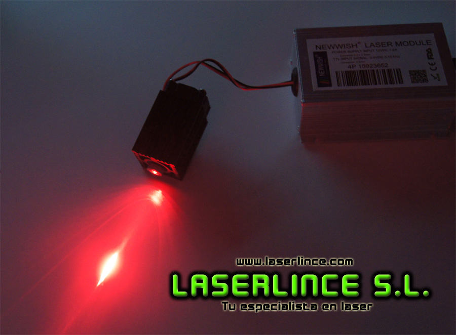 A8b 200mW Red Laser Module (650nm)