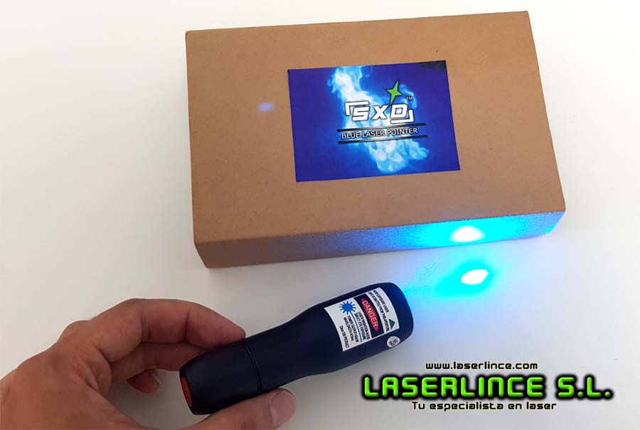 CL1 Blue Laser Pointer 75mW 488nm