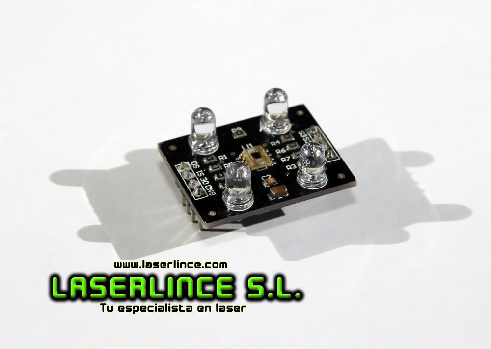 Sensor light color and intensity TAOS TCS 230 + LEDs