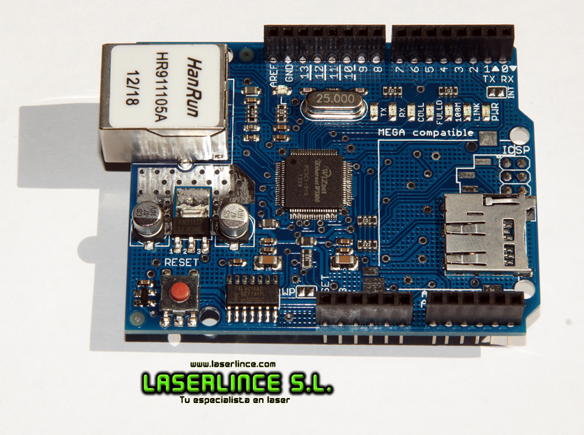 W5100 Ethernet Module for Arduino micro-SD Adapter