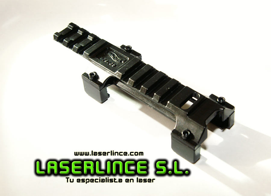 Montura de aluminio para MP5 y G3 con carril 20mm Picatinny