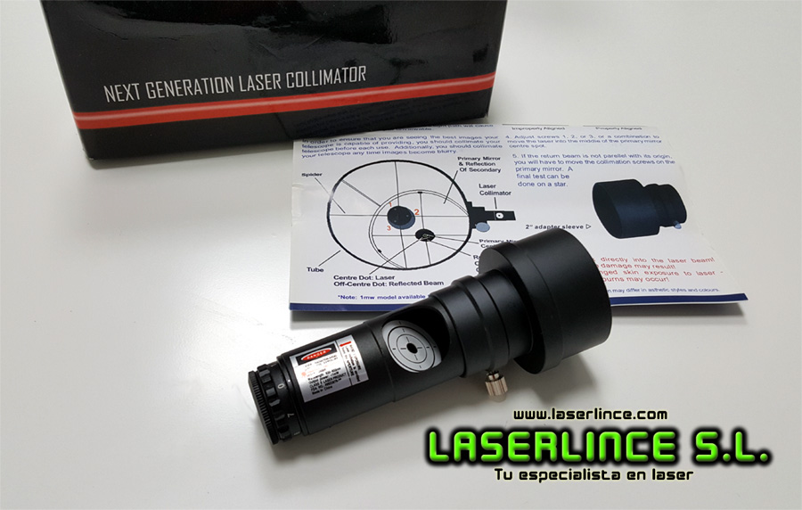 07 Red laser collimator for 650nm Newtonian telescope