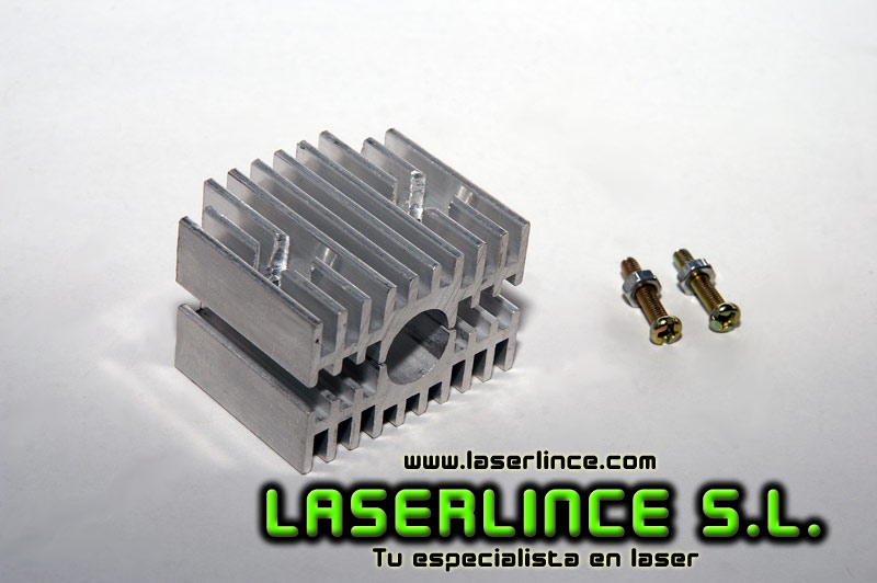 Heat sink for laser modules 12mm diameter
