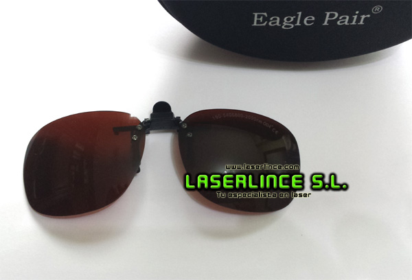 Laser goggles for red, blue and ultraviolet