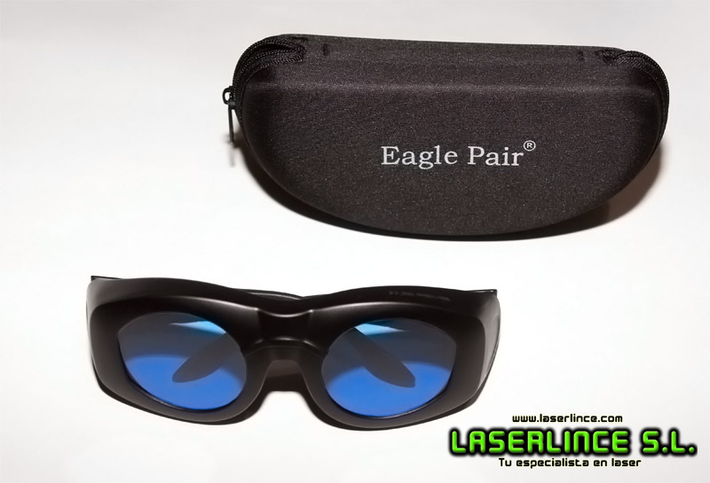 Red and Infrared laser protection goggles 600 to 1100nm OD 6 +