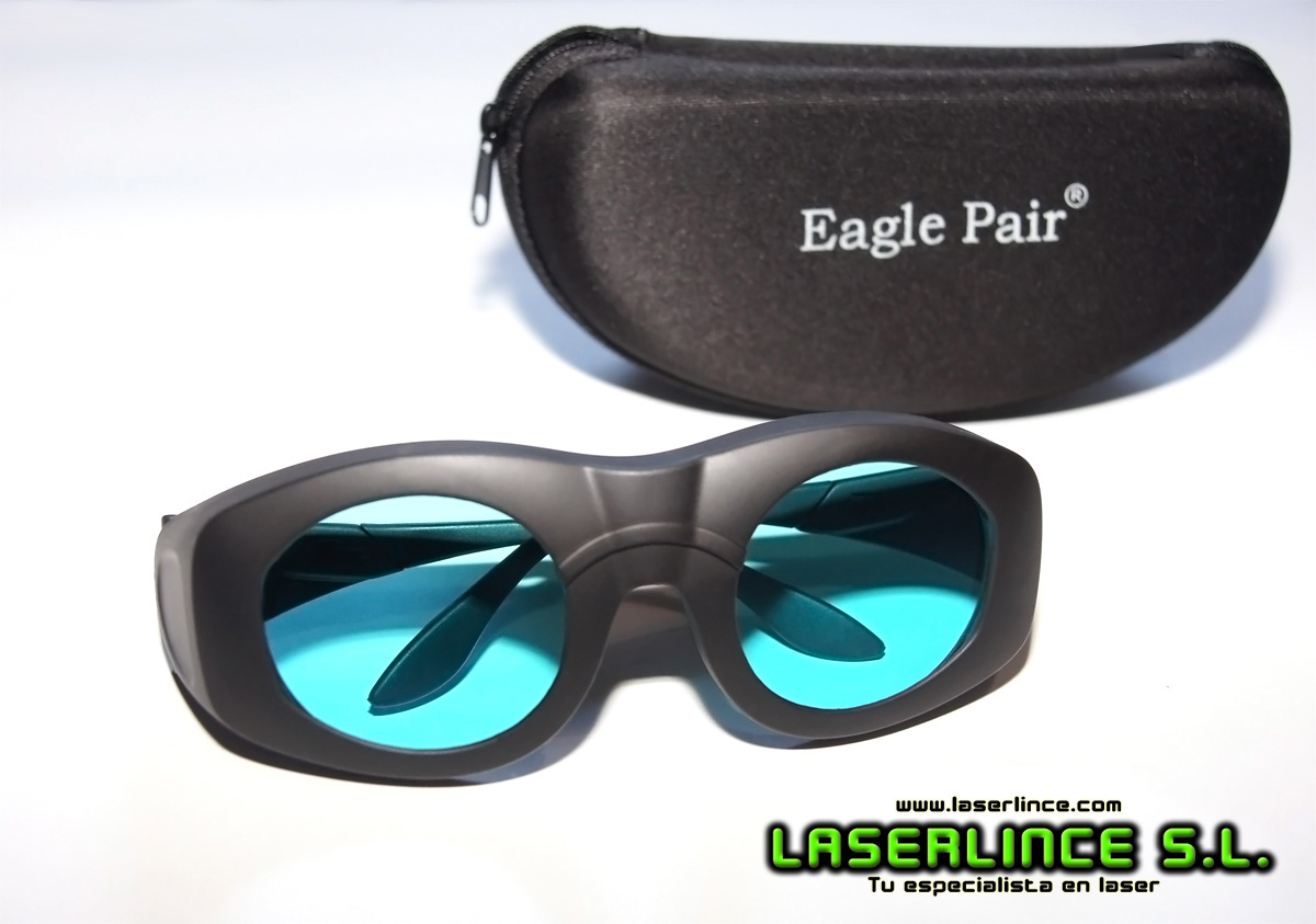 Goggles infrared laser from 680 to 1100nm OD 7 +