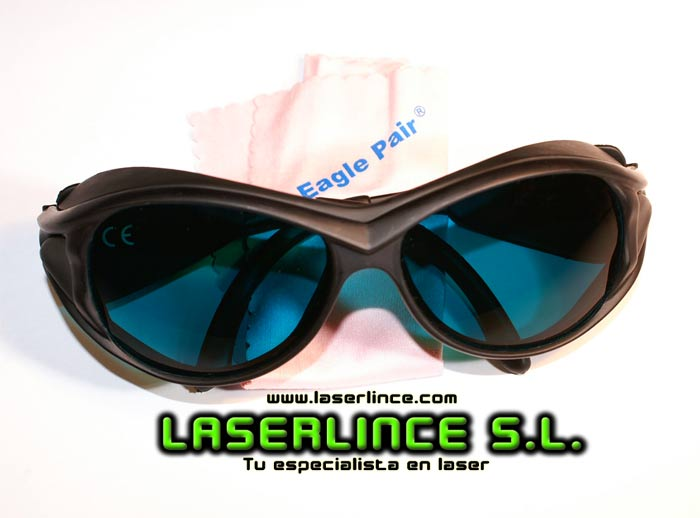 Goggles for red laser Eagle Pair OD 5+