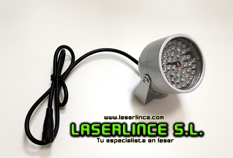 Infrared Spotlight 850nm 5W LED with ambient lighting sensor