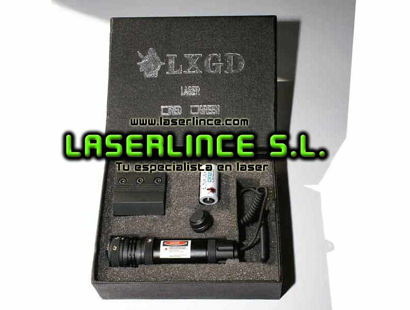 Adjustable LXGD CR123A 5mW red laser for precision shooting