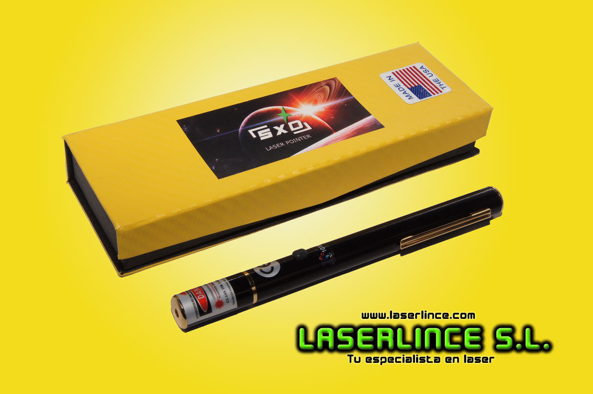 Yellow Laser Pointer 5mW (593.5 nm)