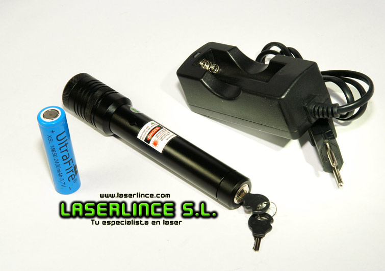 05 Infrared collimator laser pointer 10mW (808nm)