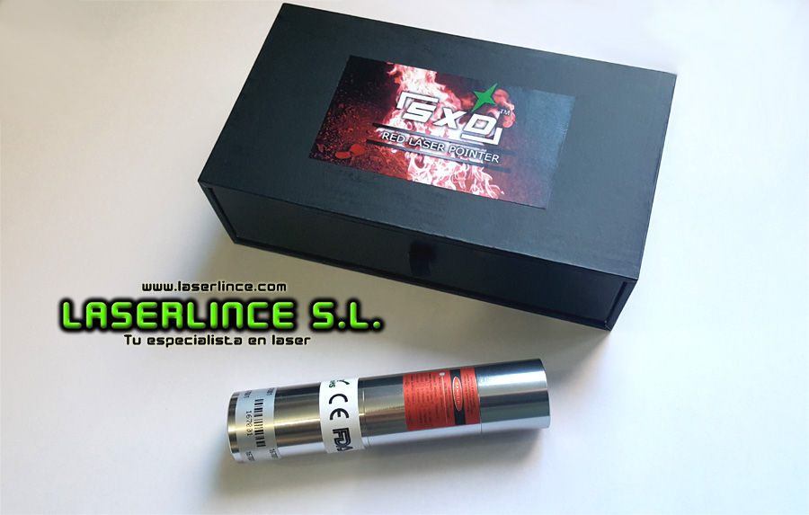 05 Red laser pointer 1000mW (650nm) <br> <br>