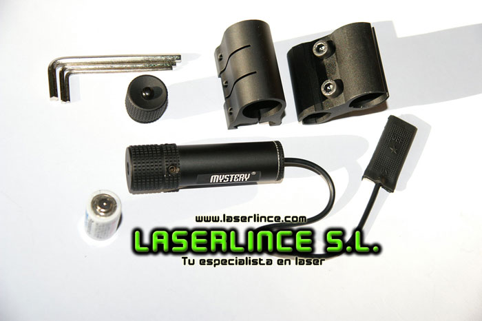Adjustable Red Laser 5mW Mystery CR2 for precision shooting