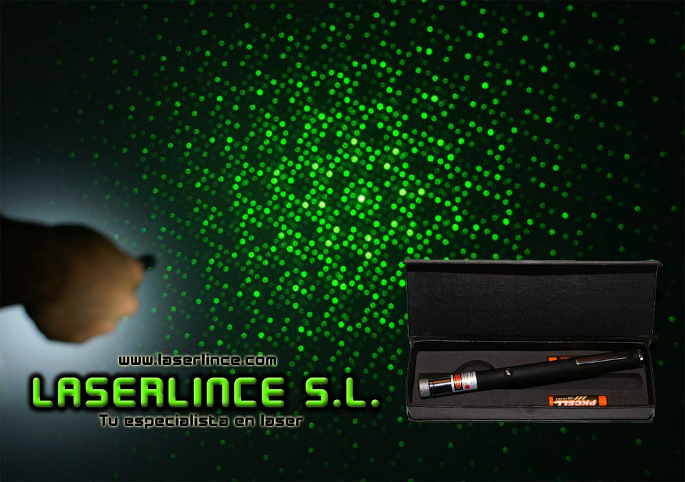 B1 Kaleidoscope 50mW green laser pointer (532nm) two-in-1