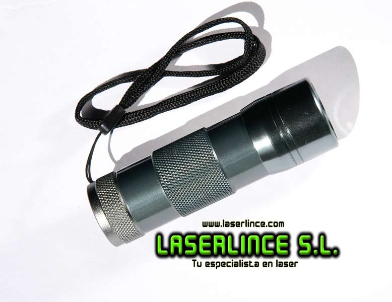 Linterna de 12 Leds Ultravioleta UV 390nm 3xAAA