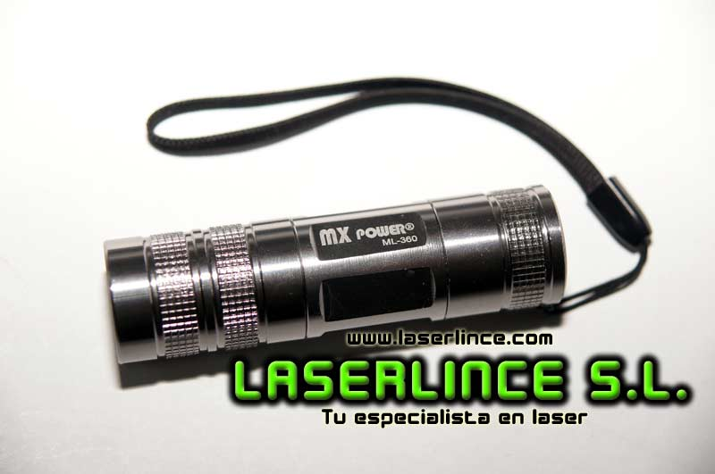 Linterna CREE MaxPower ML360 CR123A