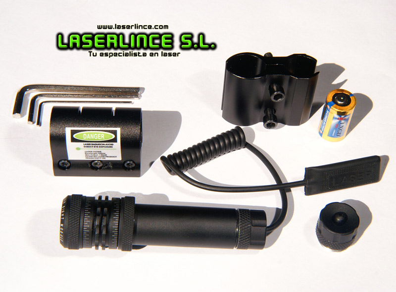 E2 adjustable LXGD green laser pointer (532nm) Compact