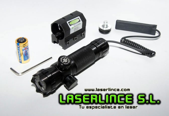 E1 adjustable infrared laser pointer LXGD 50mW (808nm)