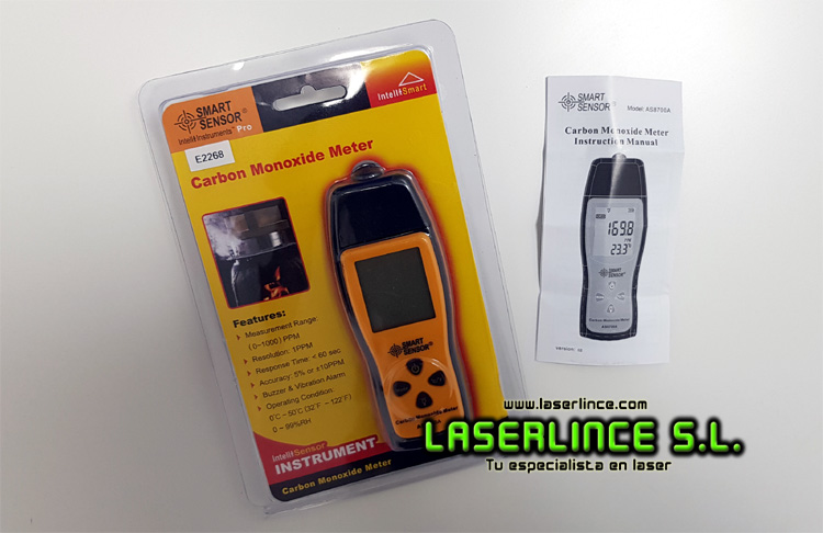 Carbon Monoxide Meter CO AS8700A