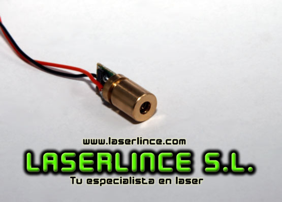 5mW red laser generator mini fixed point (650 nm)