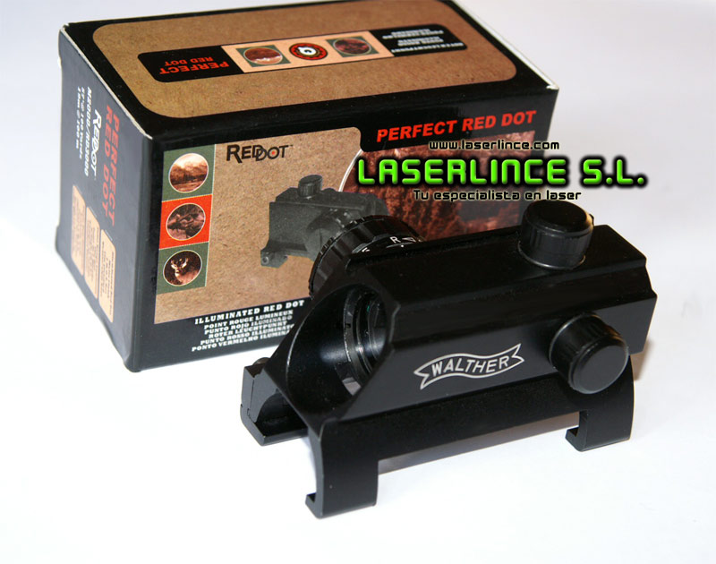 Red green and red dot for Walther MP5