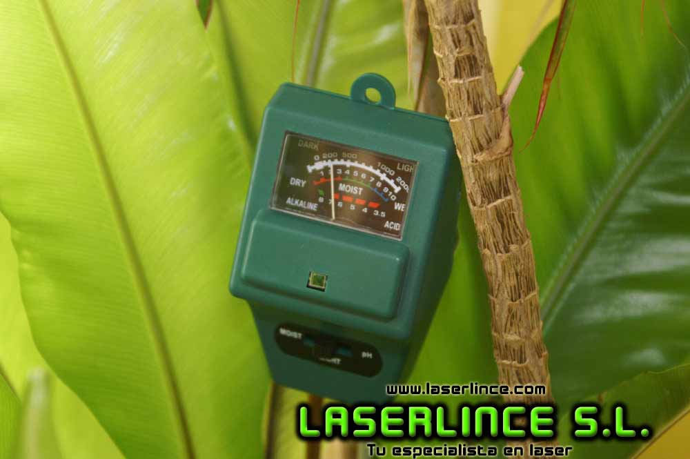 PH meter, humidity and light for plants and hydroponic crops