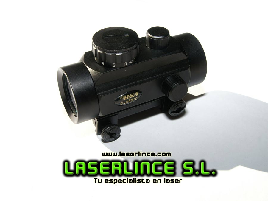 Red dot holographic BSA 1x30 Red and Green