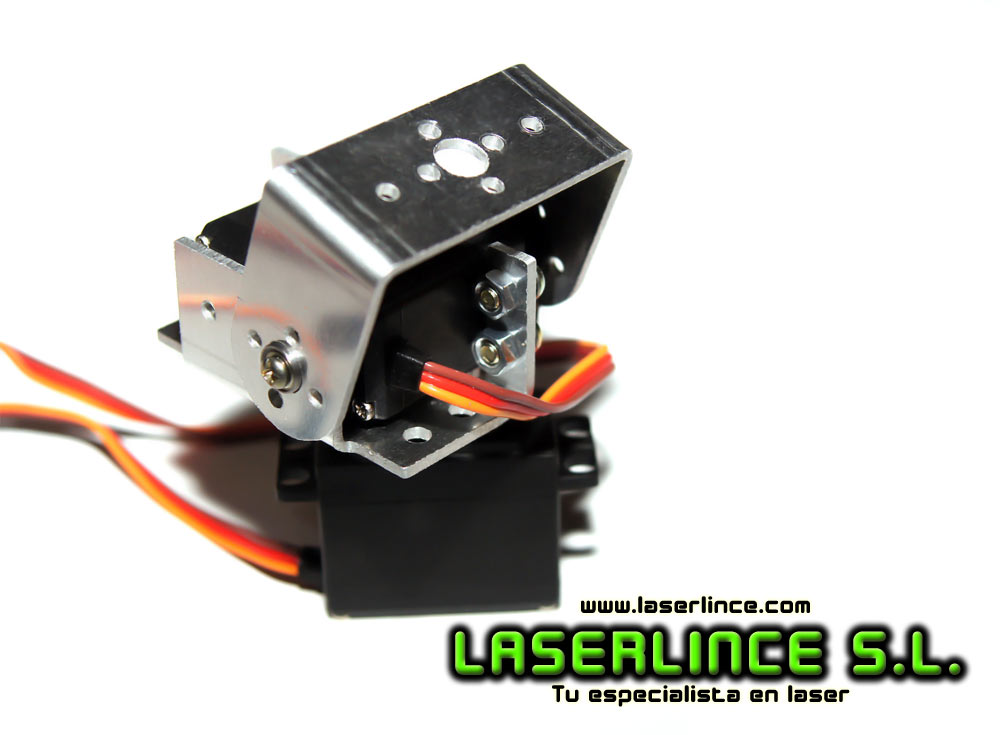 MG995 Servo kit mounts 2 units with robot arm