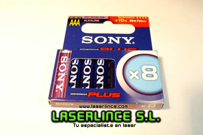 Sony Alkaline Batteries AAA 8 units