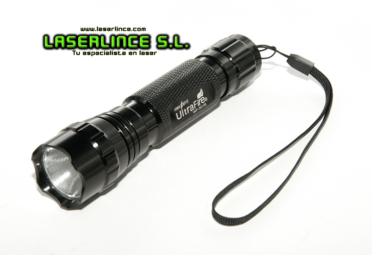 UltraFire Flashlight Xenon white light emitting